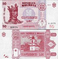 Moldova 2015 - 50 Lei - Pick 24 UNC - Moldova