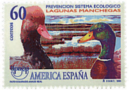Ref. 85967 * NEW *  - SPAIN . 1995. AMERICA-UPAEP. ENVIRONMENT PROTECTION.. AMERICA-UPAEP 1995 -  DEFENSA DEL MEDIO AMBI - 1931-Hoy: 2ª República - ... Juan Carlos I
