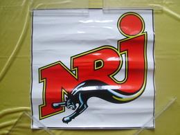 Autocollant Géant NRJ - 60,5 Cms X 59,5 Cms - Stickers