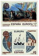 Ref. 85879 * NEW *  - SPAIN . 1992. EUROPA CEPT. 500th  ANNIVERSARY OF AMERICA DISCOVERY . EUROPA CEPT. 500 ANIVERSARIO - 1931-Hoy: 2ª República - ... Juan Carlos I