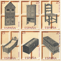 Ref. 85868 * NEW *  - SPAIN . 1991. SPANISH HANDICRAFTS. FURNITURE. ARTESANIA ESPA�OLA. MUEBLES - 1931-Hoy: 2ª República - ... Juan Carlos I