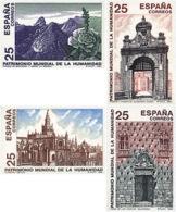 Ref. 88730 * NEW *  - SPAIN . 1991. HUMANITY WORLD HERITAGE. PATRIMONIO MUNDIAL DE LA HUMANIDAD - 1931-Hoy: 2ª República - ... Juan Carlos I