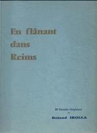 """Belle Brochure Numérotée """"EN FLANANT DANS REIMS""""  80 Dessins Originaux De Roland IROLLA - Livres, BD, Revues"""