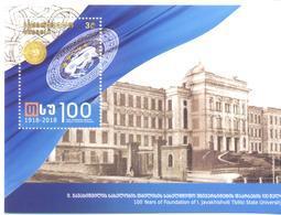 2018. Georgia, 100y Of Tbilisi State University, S/s,  Mint/** - Georgië