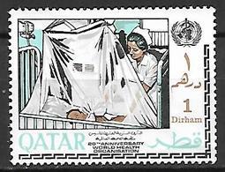 QATAR    -    OMS  /  Santé  /  Soins à L' Hopital  -    Neuf ** - Qatar