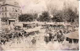 78.SQU - SAINT-QUENTIN , Le Marché Aux Fleurs - St. Quentin En Yvelines