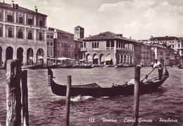 Venezia  - Canal Grande - Pescheria  -  Viaggiata - Venezia