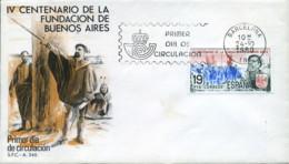 Ref. 281952 * NEW *  - SPAIN . 1980. 4th CENTENARY OF THE FOUNDING OF BUENOS AIRES. 4 CENTENARIO DE LA FUNDACION DE BUEN - 1931-Hoy: 2ª República - ... Juan Carlos I