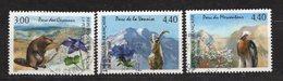 FRANCE - 1996 - YT N° 2997 / 2999 - Oblitérés - Série Nature - Parcs - Frankreich