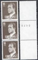 Ref. 4115 * NEW *  - SPAIN . 1980. JUAN CARLOS I. JUAN CARLOS I - 1931-Hoy: 2ª República - ... Juan Carlos I