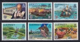 """Guernsey -Europa: Historische Ereignisse; 100 Jahre """"La Société Guernesiase"""" - MNH M 245-250 - Guernsey"""