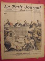 Le Petit Journal Illustré 20 Novembre 1921. Landru Embarquement éléphant Zeligowsy Sherlock Holmes - Books, Magazines, Comics