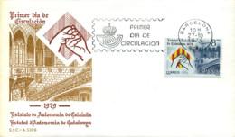 Ref. 281686 * NEW *  - SPAIN . 1979. CATALUNYA AUTONOMIC STATUTE PROCLAMATION. PROCLAMACION DEL ESTATUTO DE AUTONOMIA DE - 1931-Hoy: 2ª República - ... Juan Carlos I