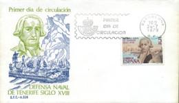 Ref. 281693 * NEW *  - SPAIN . 1979. TENERIFE NAVAL DEFENSE. DEFENSA NAVAL DE TENERIFE - 1931-Hoy: 2ª República - ... Juan Carlos I