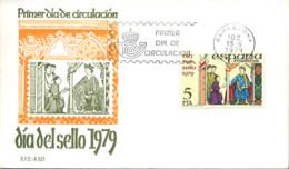 Ref. 282326 * NEW *  - SPAIN . 1979. STAMP DAY. DIA DEL SELLO - 1931-Hoy: 2ª República - ... Juan Carlos I