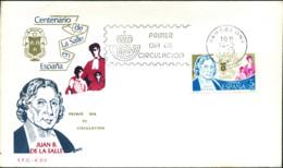 Ref. 282318 * NEW *  - SPAIN . 1979. CENTENARY OF DE LA SALLE. CENTENARIO DE LA SALLE - 1931-Hoy: 2ª República - ... Juan Carlos I