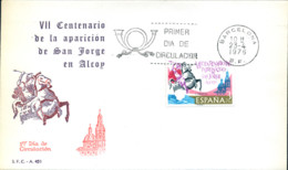 Ref. 282263 * NEW *  - SPAIN . 1976. 7th CENTENARY OF THE APPARITION OF ST. JORGE AT ALCOY. 7 CENTENARIO DE LA APARICION - 1931-Hoy: 2ª República - ... Juan Carlos I