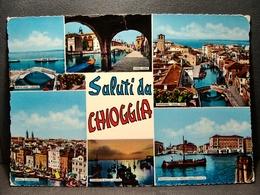 (FG.O17) Saluti Da CHIOGGIA - VEDUTE VEDUTINE (VENEZIA) Viaggiata 1971 - Chioggia