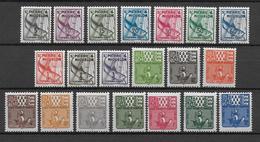 SPM - 1938/1947 - SERIES TAXE YVERT N° 32/41 + 67/76 ** - COTE = 35 EUR. - - St.Pierre & Miquelon
