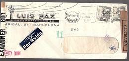 1944 Censor Luis Paz Aislantes-Termdelectriodad (304) - 1931-Today: 2nd Rep - ... Juan Carlos I