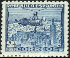 Ref. 209313 * NEW *  - SPAIN . 1938. MONUMENTS AND AUTOGIRO. MONUMENTOS Y AUTOGIRO - 1931-Hoy: 2ª República - ... Juan Carlos I