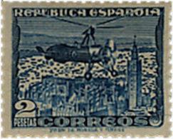 Ref. 13895 * NEW *  - SPAIN . 1938. LA CIERVA AUTOGIRO. AUTOGIRO LA CIERVA - 1931-Hoy: 2ª República - ... Juan Carlos I