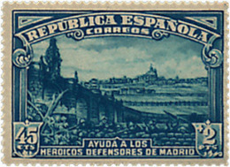 Ref. 113571 * NEW *  - SPAIN . 1938. DEFENSE OF MADRID. DEFENSA DE MADRID - 1931-Hoy: 2ª República - ... Juan Carlos I