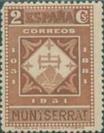 Ref. 209508 * NEW *  - SPAIN . 1931. 9th CENTENARY OF MONTSERRAT MONASTRY. 9 CENTENARIO DEL MONASTERIO DE MONTSERRAT - Nuevos