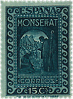 Ref. 209517 * HINGED *  - SPAIN . 1931. 9th CENTENARY OF MONTSERRAT MONASTRY. 9 CENTENARIO DEL MONASTERIO DE MONTSERRAT - Nuevos
