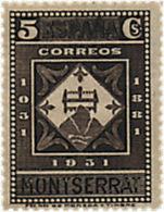 Ref. 209511 * NEW *  - SPAIN . 1931. 9th CENTENARY OF MONTSERRAT MONASTRY. 9 CENTENARIO DEL MONASTERIO DE MONTSERRAT - Nuevos