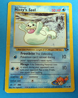 POKEMON MISTY'S SEEL 50 HP - Pokemon