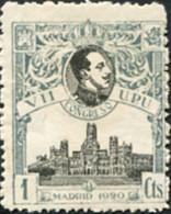 Ref. 210183 * HINGED *  - SPAIN . 1920. 7th UPU CONGRESS. 7 CONGRESO DE LA UPU - Unused Stamps