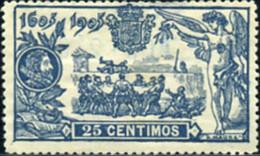 Ref. 210114 * HINGED *  - SPAIN . 1905. DON QUIXOTE OF LA MANCHA. DON QUIJOTE DE LA MANCHA - Unused Stamps