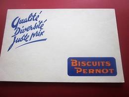 BISCUITS PERNOD - BUVARD Collection Illustré Publicitaire Publicité Alimentaire Sucreries & Gâteaux - Cake & Candy