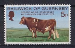 Guernsey - 2. Weltkongresz Der Viehzüchter - MNH M 66 - Guernsey