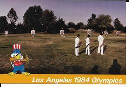 JEUX OLYMPIQUES LOS ANGELES 1984 TIR A L'ARC -  OLYMPICS GAMES ARCHERY - Jeux Olympiques