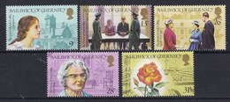 Guernsey - 100. Geburtstag Von Sibyl Hathaway - MNH M 279-283 - Guernsey