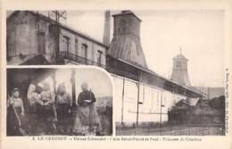 INDUSTRIE - 71 LE CREUSOT - USINES SCHNEIDER N° 08 : Puits Saint Pïerre Et Paul - Trieuse De Charbon - CPA - Usine - Industrie