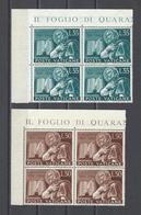 VATICAN.  YT   N° 205/206  Neuf **  1954 - Vatican