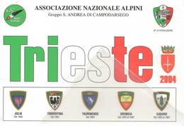 77ª Adunata Alpini Trieste 15/16-05-2004 ANA 573/1000 Gruppo S. Andrea Di Campodarsego - Manovre