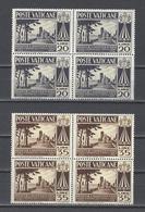 VATICAN.  YT   N° 203/204  Neuf **  1954 - Vatican