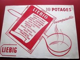 POTAGE CONSOMME DE VOLAILLE LIEBIG - BUVARD Collection Illustré Publicitaire Publicité Alimentaire Potages & Sauces - Soups & Sauces