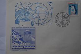 5-063 Base Antactic Pologne Antactic Traité Antarctique Pole Sud South Manchot Pingouin Penguin 1991 - Events & Commemorations