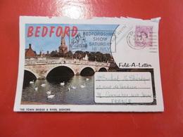 Greetings From Bedford - Enveloppe Plus Lettre - Bedford