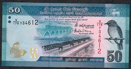 SRI LANKA P P124c 50 RUPEES 2016 UNC. - Sri Lanka