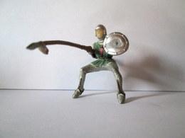 CAVALIER (sans Cheval) Tournoi Joute Moyen Age Médieval Figurines STARLUX Jouet Toy Spielezeug Ap1959 ! - Starlux
