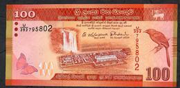SRI LANKA P P125c 100 RUPEES 2016 UNC. - Sri Lanka