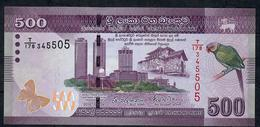 SRI LANKA P P126c 500 RUPEES 2016 UNC. - Sri Lanka