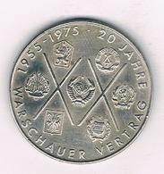 10 MARK 1975 A   DDR /DUITSLAND 3192/ - [ 6] 1949-1990 : GDR - German Dem. Rep.