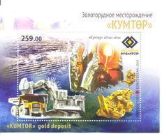 2018. Kyrgyzstan, Kumtor - Gold Mine, S/s Perforated, Mint/** - Kirgisistan